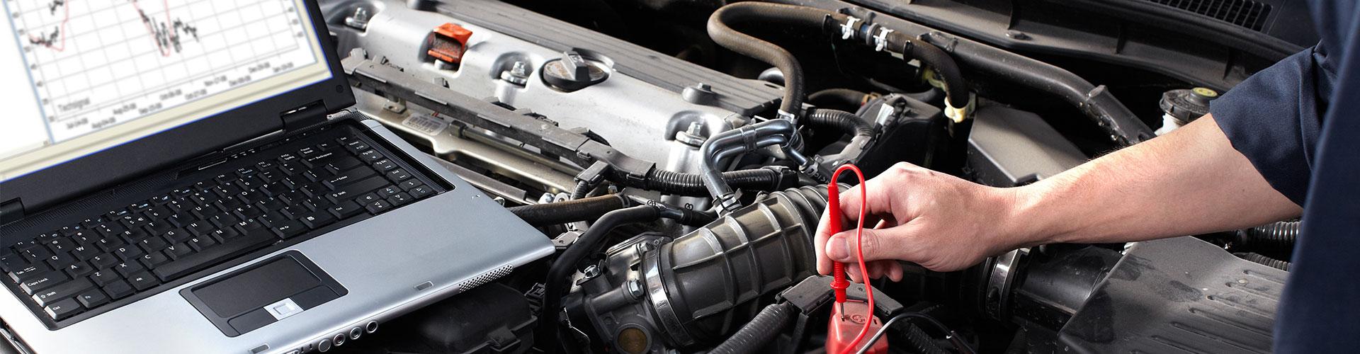 Diagnostics check on engine